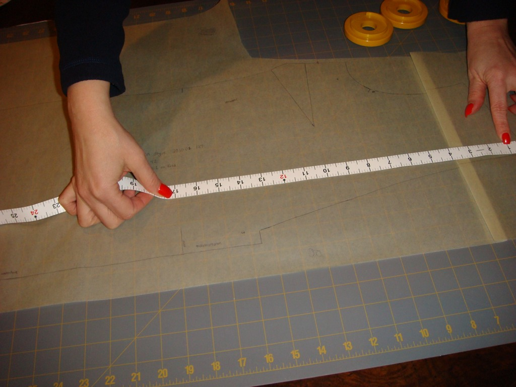 post alteration measurement